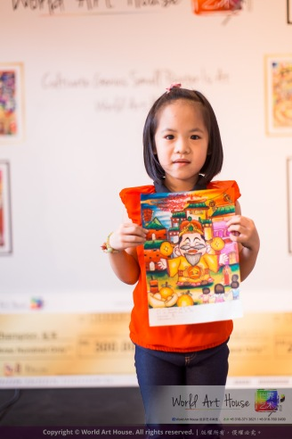 Malaysia Kota Damansara Petaling Jaya Kuala Lumpur Selangor Chinese New Year Charity Coloring Contest World Art House 世界艺术画室 and 1 Utama Shopping JinYeYe Effye Media A062