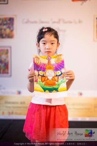 Malaysia Kota Damansara Petaling Jaya Kuala Lumpur Selangor Chinese New Year Charity Coloring Contest World Art House 世界艺术画室 and 1 Utama Shopping JinYeYe Effye Media A063