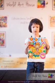 Malaysia Kota Damansara Petaling Jaya Kuala Lumpur Selangor Chinese New Year Charity Coloring Contest World Art House 世界艺术画室 and 1 Utama Shopping JinYeYe Effye Media A064