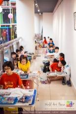Malaysia Kota Damansara Petaling Jaya Kuala Lumpur Selangor Chinese New Year Charity Coloring Contest World Art House 世界艺术画室 and 1 Utama Shopping JinYeYe Effye Media A072