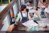 Malaysia Kota Damansara Petaling Jaya Kuala Lumpur Selangor Chinese New Year Charity Coloring Contest World Art House 世界艺术画室 and 1 Utama Shopping JinYeYe Effye Media A073