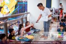 Malaysia Kota Damansara Petaling Jaya Kuala Lumpur Selangor Chinese New Year Charity Coloring Contest World Art House 世界艺术画室 and 1 Utama Shopping JinYeYe Effye Media A074