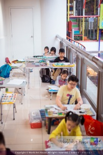 Malaysia Kota Damansara Petaling Jaya Kuala Lumpur Selangor Chinese New Year Charity Coloring Contest World Art House 世界艺术画室 and 1 Utama Shopping JinYeYe Effye Media A075