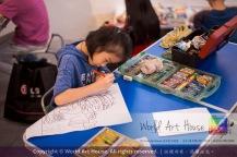 Malaysia Kota Damansara Petaling Jaya Kuala Lumpur Selangor Chinese New Year Charity Coloring Contest World Art House 世界艺术画室 and 1 Utama Shopping JinYeYe Effye Media A080