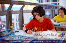 Malaysia Kota Damansara Petaling Jaya Kuala Lumpur Selangor Chinese New Year Charity Coloring Contest World Art House 世界艺术画室 and 1 Utama Shopping JinYeYe Effye Media A081
