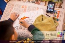 Malaysia Kota Damansara Petaling Jaya Kuala Lumpur Selangor Chinese New Year Charity Coloring Contest World Art House 世界艺术画室 and 1 Utama Shopping JinYeYe Effye Media A085