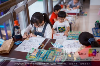Malaysia Kota Damansara Petaling Jaya Kuala Lumpur Selangor Chinese New Year Charity Coloring Contest World Art House 世界艺术画室 and 1 Utama Shopping JinYeYe Effye Media A086