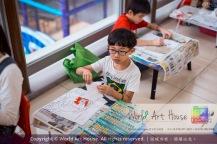 Malaysia Kota Damansara Petaling Jaya Kuala Lumpur Selangor Chinese New Year Charity Coloring Contest World Art House 世界艺术画室 and 1 Utama Shopping JinYeYe Effye Media A087