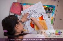 Malaysia Kota Damansara Petaling Jaya Kuala Lumpur Selangor Chinese New Year Charity Coloring Contest World Art House 世界艺术画室 and 1 Utama Shopping JinYeYe Effye Media A088