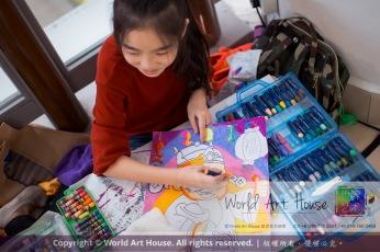 Malaysia Kota Damansara Petaling Jaya Kuala Lumpur Selangor Chinese New Year Charity Coloring Contest World Art House 世界艺术画室 and 1 Utama Shopping JinYeYe Effye Media A096