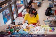 Malaysia Kota Damansara Petaling Jaya Kuala Lumpur Selangor Chinese New Year Charity Coloring Contest World Art House 世界艺术画室 and 1 Utama Shopping JinYeYe Effye Media A098