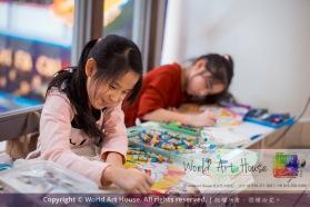 Malaysia Kota Damansara Petaling Jaya Kuala Lumpur Selangor Chinese New Year Charity Coloring Contest World Art House 世界艺术画室 and 1 Utama Shopping JinYeYe Effye Media A100