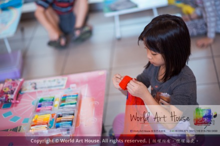 Malaysia Kota Damansara Petaling Jaya Kuala Lumpur Selangor World Art House 世界艺术画室 Charity Coloring Contest Effye Media A001