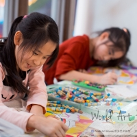 Let The World of Art is Full of Joy - Charity Creative Colouring Competition