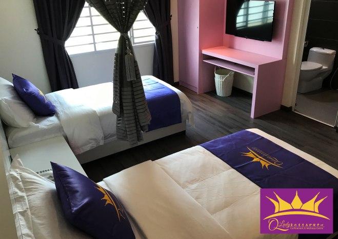 Qlady皇妃月子与护理中心 峇株巴辖 柔佛 马来西亚 做月子 女性长短期护理 陪月 经期调养休息 A11