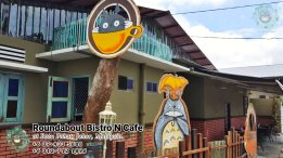 Batu Pahat Roundabout Bistro N Cafe Malaysia Johor Batu Pahat Totoro Cafe Historical Building Cafe Batu Pahat Landmark Buffet Birthday Party Wedding Function Event Kopitiam P01-14