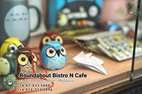 Batu Pahat Roundabout Bistro N Cafe Malaysia Johor Batu Pahat Totoro Cafe Historical Building Cafe Batu Pahat Landmark Buffet Birthday Party Wedding Function Event Kopitiam P01-29
