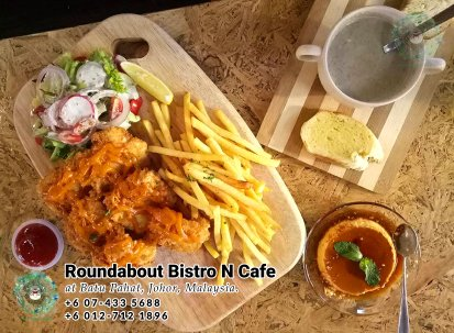Batu Pahat Roundabout Bistro N Cafe Malaysia Johor Batu Pahat Totoro Cafe Historical Building Cafe Batu Pahat Landmark Buffet Birthday Party Wedding Function Event Kopitiam PB01-01