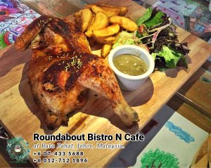 Batu Pahat Roundabout Bistro N Cafe Malaysia Johor Batu Pahat Totoro Cafe Historical Building Cafe Batu Pahat Landmark Buffet Birthday Party Wedding Function Event Kopitiam PB01-04