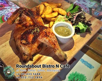 Batu Pahat Roundabout Bistro N Cafe Malaysia Johor Batu Pahat Totoro Cafe Historical Building Cafe Batu Pahat Landmark Buffet Birthday Party Wedding Function Event Kopitiam PB01-04