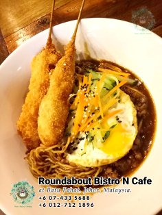 Batu Pahat Roundabout Bistro N Cafe Malaysia Johor Batu Pahat Totoro Cafe Historical Building Cafe Batu Pahat Landmark Buffet Birthday Party Wedding Function Event Kopitiam PB01-06