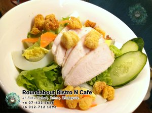 Batu Pahat Roundabout Bistro N Cafe Malaysia Johor Batu Pahat Totoro Cafe Historical Building Cafe Batu Pahat Landmark Buffet Birthday Party Wedding Function Event Kopitiam PB01-11