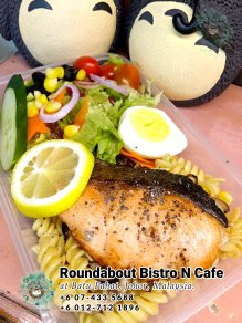 Batu Pahat Roundabout Bistro N Cafe Malaysia Johor Batu Pahat Totoro Cafe Historical Building Cafe Batu Pahat Landmark Buffet Birthday Party Wedding Function Event Kopitiam PB01-17
