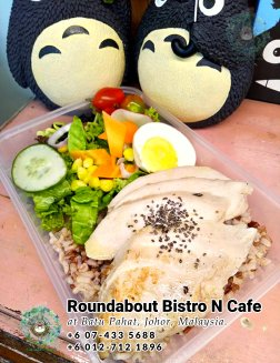 Batu Pahat Roundabout Bistro N Cafe Malaysia Johor Batu Pahat Totoro Cafe Historical Building Cafe Batu Pahat Landmark Buffet Birthday Party Wedding Function Event Kopitiam PB01-18