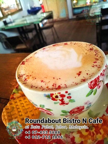 Batu Pahat Roundabout Bistro N Cafe Malaysia Johor Batu Pahat Totoro Cafe Historical Building Cafe Batu Pahat Landmark Buffet Birthday Party Wedding Function Event Kopitiam PB01-30