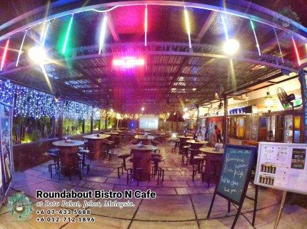 Batu Pahat Roundabout Bistro N Cafe Malaysia Johor Batu Pahat Totoro Kafe Bangunan Bersejarah Kafe Batu Pahat Landmark Bufet Hari Lahir Parti Perkahwinan Acara Kopitiam PA01-03