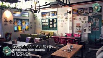 Batu Pahat Roundabout Bistro N Cafe Malaysia Johor Batu Pahat Totoro Kafe Bangunan Bersejarah Kafe Batu Pahat Landmark Bufet Hari Lahir Parti Perkahwinan Acara Kopitiam PA01-09