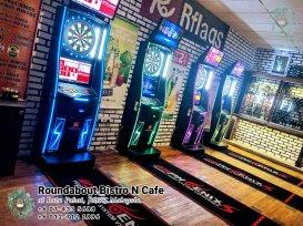 Batu Pahat Roundabout Bistro N Cafe Malaysia Johor Batu Pahat Totoro Kafe Bangunan Bersejarah Kafe Batu Pahat Landmark Bufet Hari Lahir Parti Perkahwinan Acara Kopitiam PA01-12