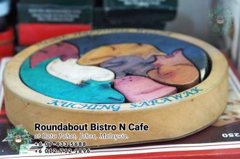 Batu Pahat Roundabout Bistro N Cafe Malaysia Johor Batu Pahat Totoro Kafe Bangunan Bersejarah Kafe Batu Pahat Landmark Bufet Hari Lahir Parti Perkahwinan Acara Kopitiam PA01-38