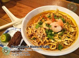 Batu Pahat Roundabout Bistro N Cafe Malaysia Johor Batu Pahat Totoro Kafe Bangunan Bersejarah Kafe Batu Pahat Landmark Bufet Hari Lahir Parti Perkahwinan Acara Kopitiam PB01-05