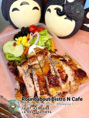 Batu Pahat Roundabout Bistro N Cafe Malaysia Johor Batu Pahat Totoro Kafe Bangunan Bersejarah Kafe Batu Pahat Landmark Bufet Hari Lahir Parti Perkahwinan Acara Kopitiam PB01-16