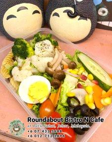 Batu Pahat Roundabout Bistro N Cafe Malaysia Johor Batu Pahat Totoro Kafe Bangunan Bersejarah Kafe Batu Pahat Landmark Bufet Hari Lahir Parti Perkahwinan Acara Kopitiam PB01-19