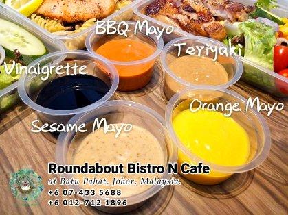 Batu Pahat Roundabout Bistro N Cafe Malaysia Johor Batu Pahat Totoro Kafe Bangunan Bersejarah Kafe Batu Pahat Landmark Bufet Hari Lahir Parti Perkahwinan Acara Kopitiam PB01-20