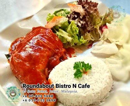 Batu Pahat Roundabout Bistro N Cafe Malaysia Johor Batu Pahat Totoro Kafe Bangunan Bersejarah Kafe Batu Pahat Landmark Bufet Hari Lahir Parti Perkahwinan Acara Kopitiam PB01-23