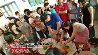Bufet Batu Pahat Roundabout Bistro N Cafe Malaysia Johor Batu Pahat Totoro Kafe Bangunan Bersejarah Kafe Batu Pahat Landmark Hari Lahir Parti Perkahwinan Acara Kopitiam PC01-01