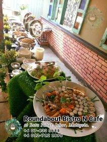 Bufet Batu Pahat Roundabout Bistro N Cafe Malaysia Johor Batu Pahat Totoro Kafe Bangunan Bersejarah Kafe Batu Pahat Landmark Hari Lahir Parti Perkahwinan Acara Kopitiam PC01-10