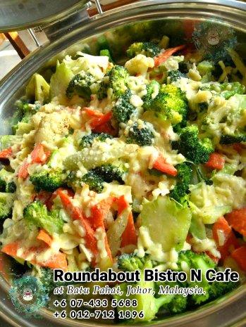 Bufet Batu Pahat Roundabout Bistro N Cafe Malaysia Johor Batu Pahat Totoro Kafe Bangunan Bersejarah Kafe Batu Pahat Landmark Hari Lahir Parti Perkahwinan Acara Kopitiam PC01-44