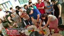 Buffet Batu Pahat Roundabout Bistro N Cafe Malaysia Johor Batu Pahat Totoro Cafe Historical Building Cafe Batu Pahat Landmark Birthday Party Wedding Function Event Kopitiam PC01-01
