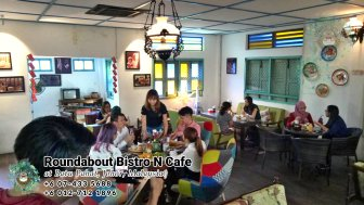 Buffet Batu Pahat Roundabout Bistro N Cafe Malaysia Johor Batu Pahat Totoro Cafe Historical Building Cafe Batu Pahat Landmark Birthday Party Wedding Function Event Kopitiam PC01-04