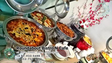Buffet Batu Pahat Roundabout Bistro N Cafe Malaysia Johor Batu Pahat Totoro Cafe Historical Building Cafe Batu Pahat Landmark Birthday Party Wedding Function Event Kopitiam PC01-06