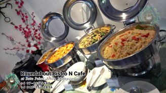 Buffet Batu Pahat Roundabout Bistro N Cafe Malaysia Johor Batu Pahat Totoro Cafe Historical Building Cafe Batu Pahat Landmark Birthday Party Wedding Function Event Kopitiam PC01-07
