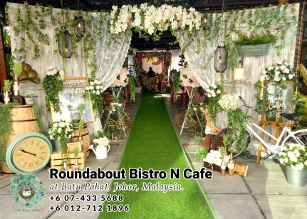 Buffet Batu Pahat Roundabout Bistro N Cafe Malaysia Johor Batu Pahat Totoro Cafe Historical Building Cafe Batu Pahat Landmark Birthday Party Wedding Function Event Kopitiam PC01-12