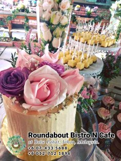 Buffet Batu Pahat Roundabout Bistro N Cafe Malaysia Johor Batu Pahat Totoro Cafe Historical Building Cafe Batu Pahat Landmark Birthday Party Wedding Function Event Kopitiam PC01-16