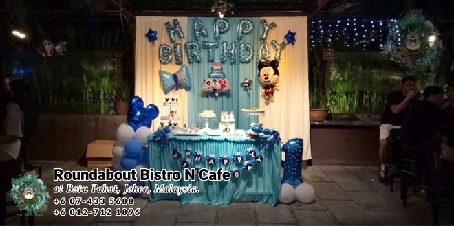 Buffet Batu Pahat Roundabout Bistro N Cafe Malaysia Johor Batu Pahat Totoro Cafe Historical Building Cafe Batu Pahat Landmark Birthday Party Wedding Function Event Kopitiam PC01-17