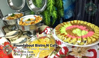 Buffet Batu Pahat Roundabout Bistro N Cafe Malaysia Johor Batu Pahat Totoro Cafe Historical Building Cafe Batu Pahat Landmark Birthday Party Wedding Function Event Kopitiam PC01-18