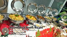 Buffet Batu Pahat Roundabout Bistro N Cafe Malaysia Johor Batu Pahat Totoro Cafe Historical Building Cafe Batu Pahat Landmark Birthday Party Wedding Function Event Kopitiam PC01-19